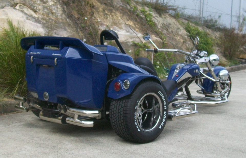 Mustang-Thunderbird-bluerear